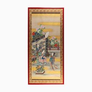 Gemälde von Silk the Court Woman und ihren Gefährten