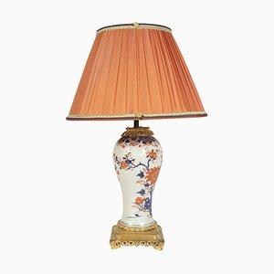 Antike chinesische Imari Porzellan Tischlampe