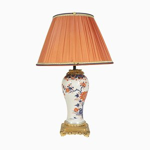 Antique Chinese Imari Porcelain Table Lamp