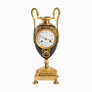 19th Century Directoire Clock with Dial by Frissard Rouen