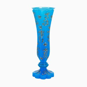 19th Century French Napoleon III Opaline Vase