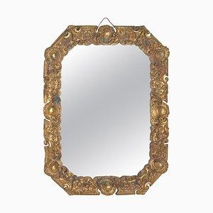 19th Century Napoleon III Gilded Bronze Mirror