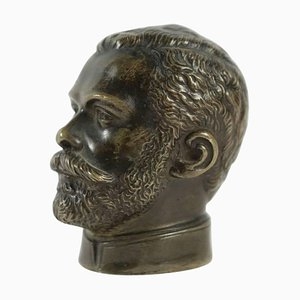 19th Century Pommel of Cane Head of Nicholas II
