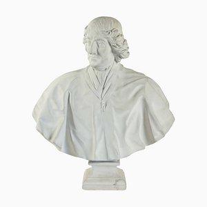 Gips der Bossen von Bossuet Jacques-Benigne in Louvre-Optik