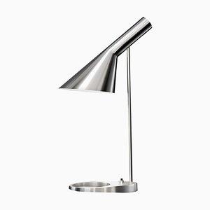 AJ Stahl Tischlampe von Arne Jacobsen für Louis Poulsen
