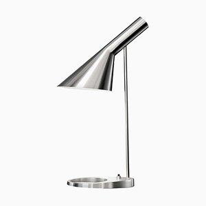 AJ Mini Stahl Tischlampe von Arne Jacobsen für Louis Poulsen