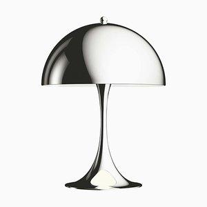 Mini Stahl Tischlampe von Verner Panton für Louis Poulsen