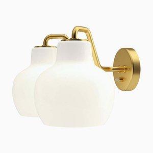 Wandlampe Crown 2 von Vilhelm Lauritzen für Louis Poulsen