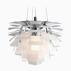 Großer Artichoke Kronleuchter aus Glas von Poul Henningsen für Louis Poulsen