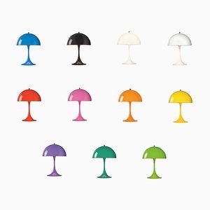 Mini Tischlampe in Farbe von Verner Panton für Louis Poulsen