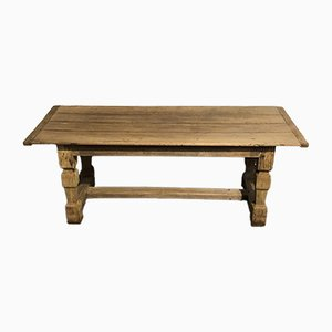 Rustic French Oak Farmhouse Dining Table