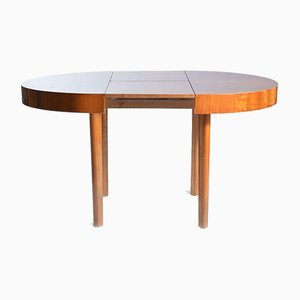 Large Round Dining Table from Jitona, Czechoslovakia, 1960s