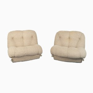 Lounge Chairs by Rino Maturi for Mimo, 1970s, Set of 2