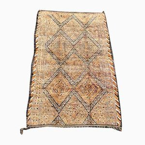 Vintage Large Moroccan Beni Ouarain Carpet