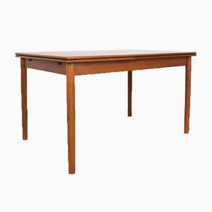 Mid-Century Danish Teak Extendable Dining Table from A.M. Mobler, 1960s