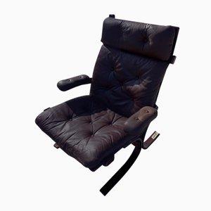 Danish Kangaroo Style Lounge Chair, 1970s