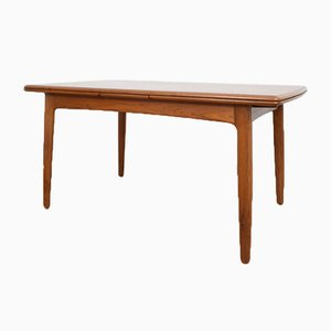 Mid-Century Danish Teak Dining Table by Svend Aage Madsen for K. Knudsen, 1960s