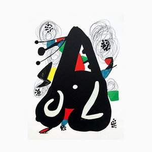 La Mélodie Acide IX Lithograph by Joan Miró for Poligrafa Barcelona S.A.