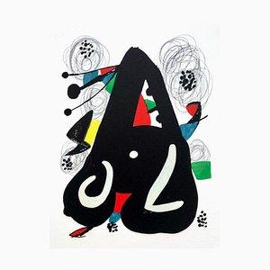 La Mélodie Acide IX Lithographie von Joan Miró für Poligrafa Barcelona SA