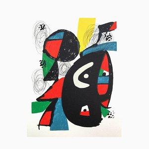 Lithographie La Mélodie Acide XII par Joan Miró pour Poligrafa Barcelona SA