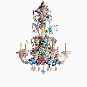 Antique Handmade Murano Chandelier, 1900s