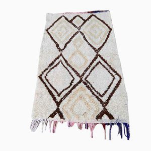 Vintage Beige Beni Ouarain Mat