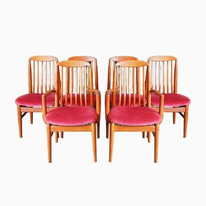 Dining Chairs from Preben-Schou, 1960s, Set of 6