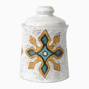 Frasco Mid-Century de cerámica de Yvette Manoy, años 50