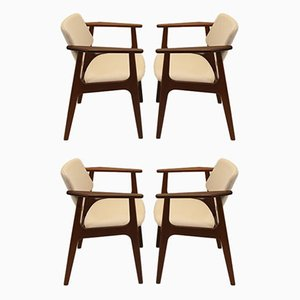 Dining Chairs by Arne Vodder, 1966, Set of 4