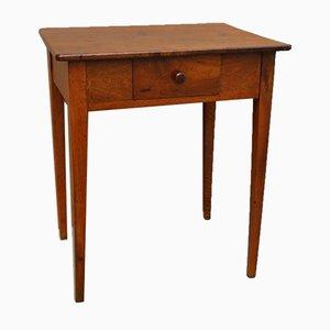Tavolino da caffè in legno di noce directoire, Italia, XVIII secolo