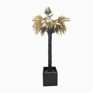 Palm-Tree Lamp by Christian Techoueyres for Maison Jansen, 1970s
