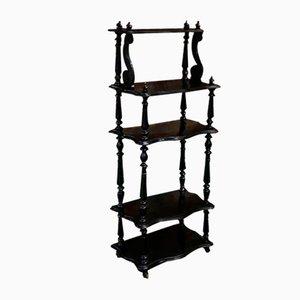 Napoleon III Blackened Wood Shelf