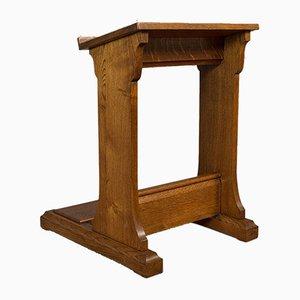 Antikes englisches viktorianisches Rednerpult aus Eiche