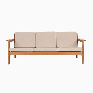 Mid-Century 3-Seater Sofa by Børge Mogensen for Fredericia