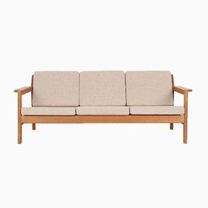 Mid-Century 3-Sitzer Sofa von Børge Mogensen für Fredericia