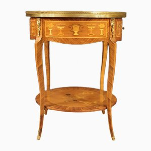 French Rosewood Side Table, 1960s