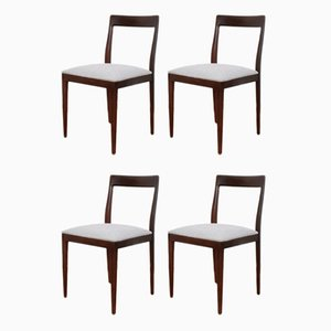 Mid-Century Dining Chairs from Lübke, 1960s, Set of 4