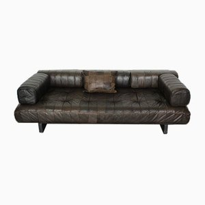 Mid-Century Patchwork Leather DS 80 Daybed from de Sede