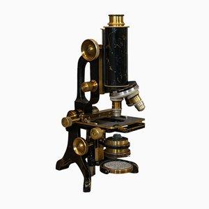 Microscope Antique de Charles Baker, Angleterre