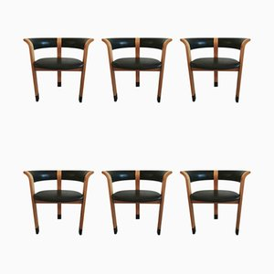 Model 4551 Dining Chairs by Thygesen & Sørensen for Magnus Olesen, 1970s, Set of 6