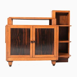 Oak Art Deco Hague School Tea Cabinet by Anton Lucas, 1920s