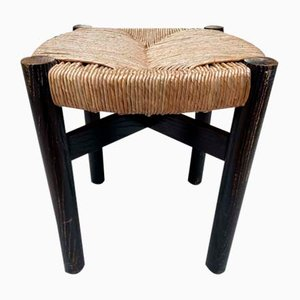 Vintage Meribel Stool by Charlotte Perriand