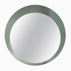 Round Italian Mirror with Double Frame by Franz Sartori, 1960s