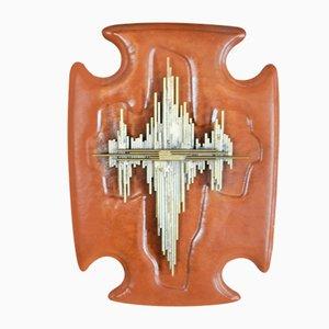 Sculpture Crucifix Brutaliste, 1960s