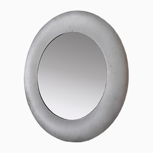 Italian Round Mirror from Burchiellaro, 1970s
