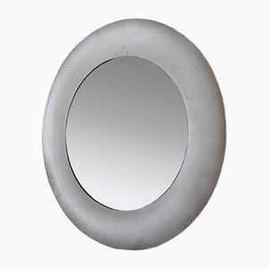 Italienischer Runder Spiegel von Burchiellaro, 1970er