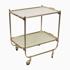 Formica Trolley with Aluminum Top, 1950s