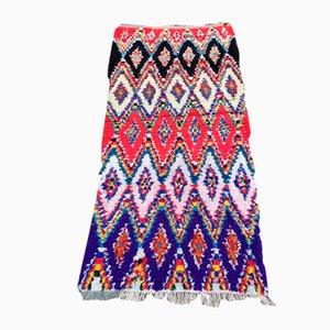 Small Colorful Boucherouite Carpet