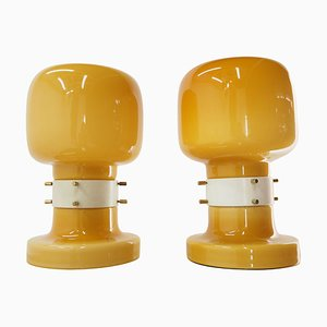 Mid-Century Table Lamps by Zbyněk Hřivnáč, Equipment Hotel Praha, 1960s, Set of 2