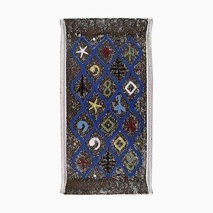 Serviertablett aus Glasiertem Steingut von Ingrid Atterberg für Upsala-Ekeby